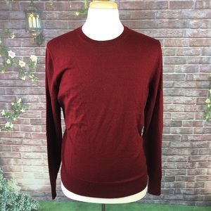 Apt9 Men's Red Sweater Long sleeves Size XL